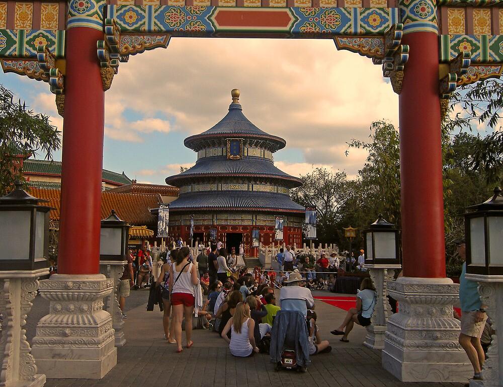 China Pavillion (Epcot) by John  Kapusta