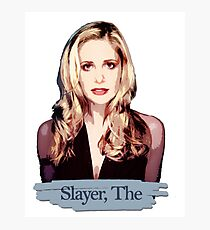 Buffy: Slayer, The Photographic Print