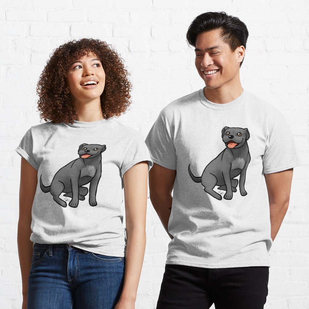 American Pit Bull Terrier - Black Classic T-Shirt