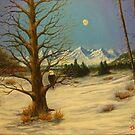 Moonlighting Eagle by Dan Wagner
