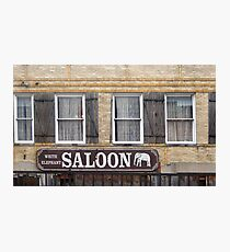 White Elephant Saloon  Photographic Print