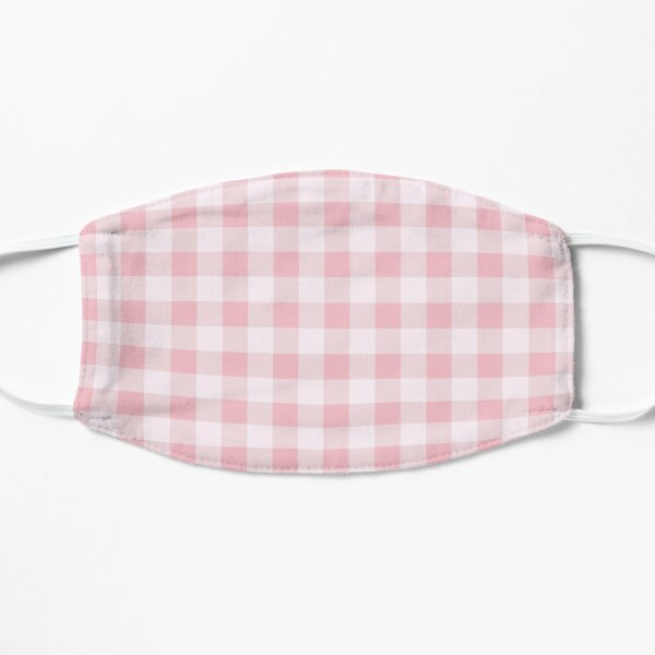 Babydoll Gingham Flat Mask