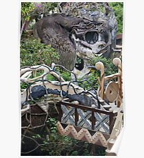 The Crazy House, Dalat, Vietnam Poster