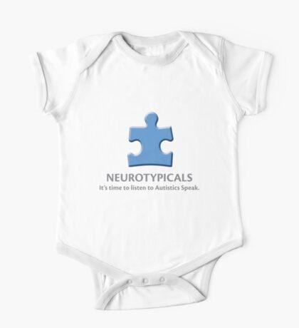 Neurotypicals -  It's time to listen to Autistics Speak. Kids Clothes