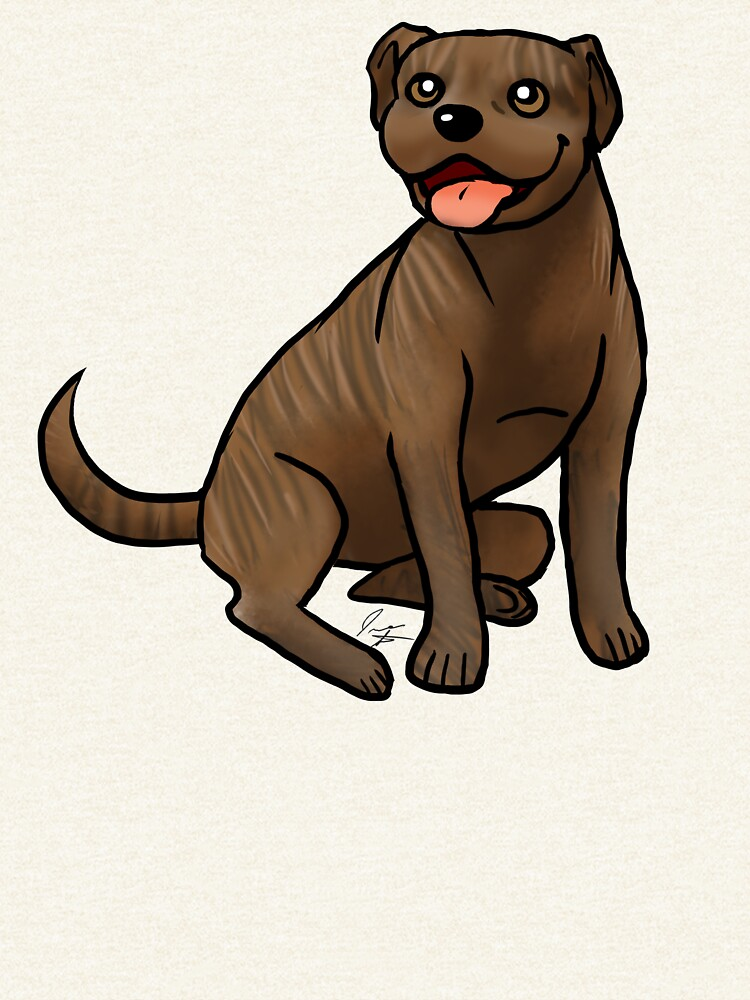 American Pit Bull Terrier - Brindle by jameson9101322