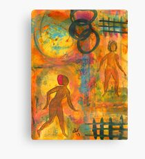 Childhood Friends: I Remember You Canvas Print