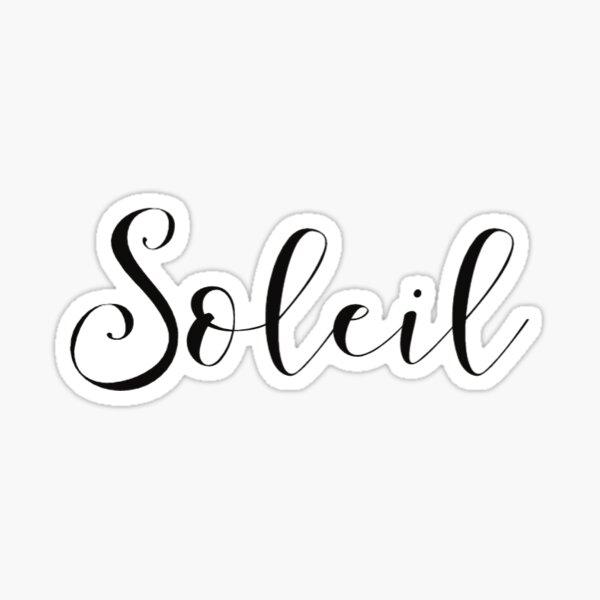 Soleil Sticker
