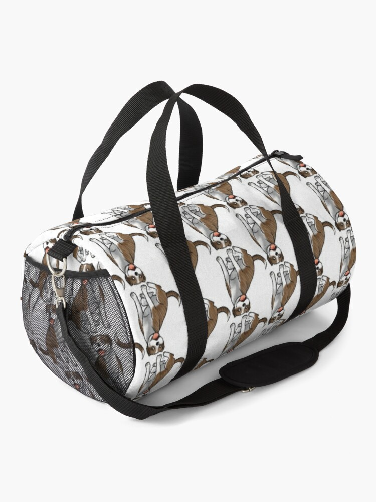 Alternate view of American Pit Bull Terrier - Brindle and White Duffle Bag