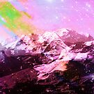 Crystal Summit - Abstract Art Print by Tony Gaglio