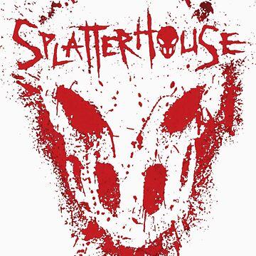 Splatterhouse Cover by Oss182