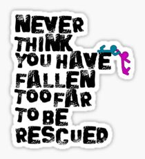 Rescued  Sticker