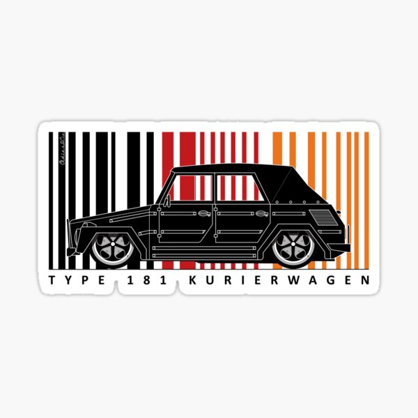 AIRCOOLED 181 THING Sticker