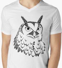 Doodle Hoot Men's V-Neck T-Shirt