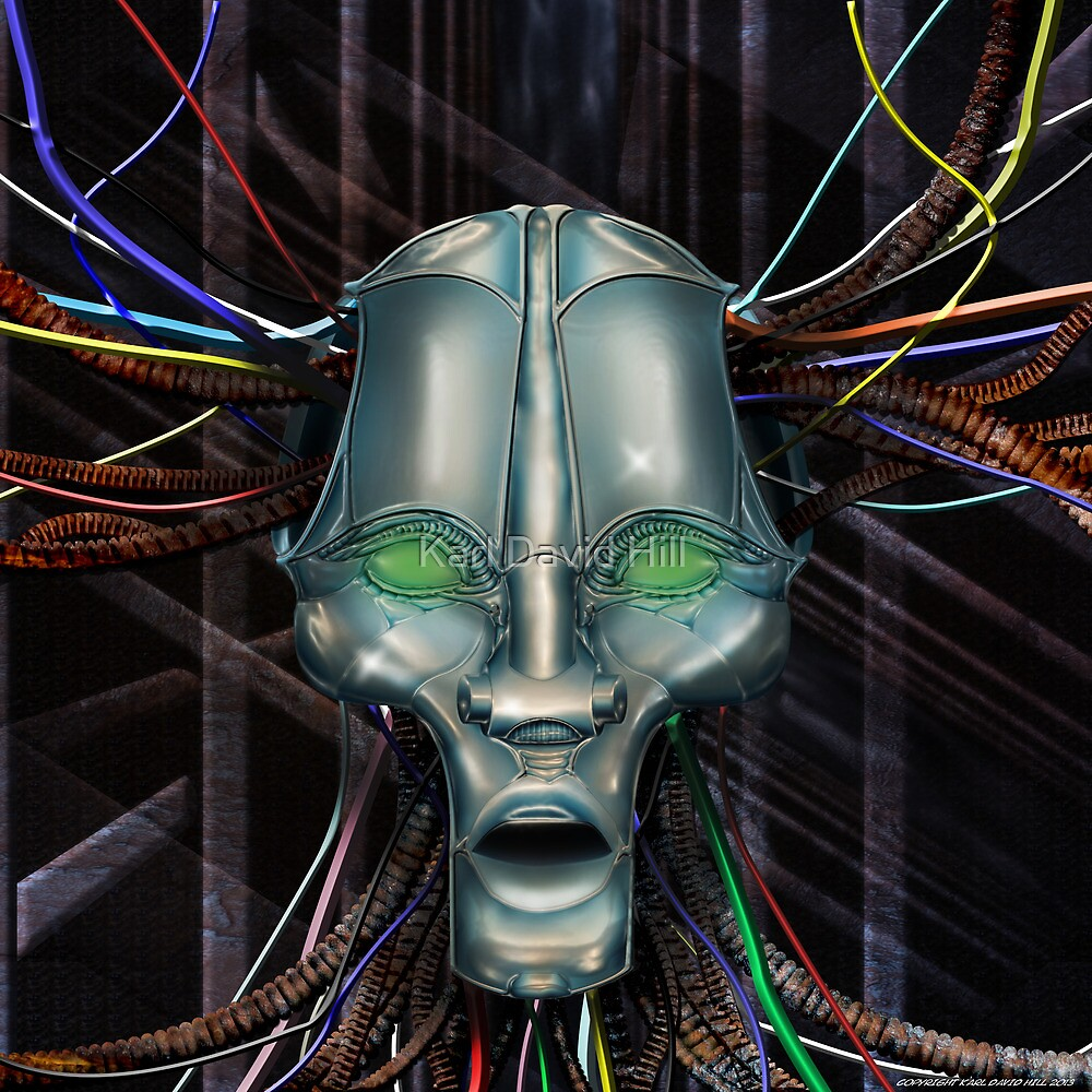 Wired 001 by Karl David Hill
