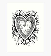 I Doodle Love You Art Print
