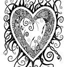 I Doodle Love You by artbybrad