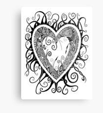 I Doodle Love You Metal Print