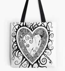 I Doodle Love You Tote Bag