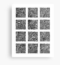 Doodle Dozen Metal Print