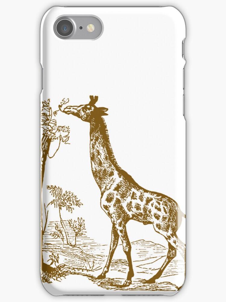 Vintage Giraffe by pencreations
