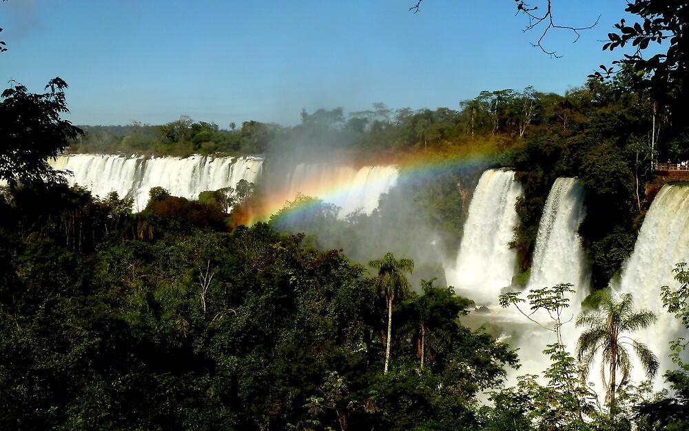 wonderful Iguassu Falls by supergold
