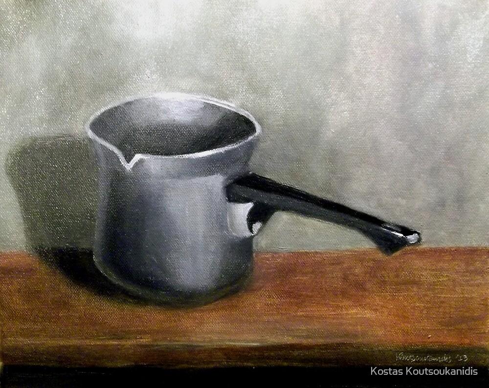 Coffee pot by Kostas Koutsoukanidis