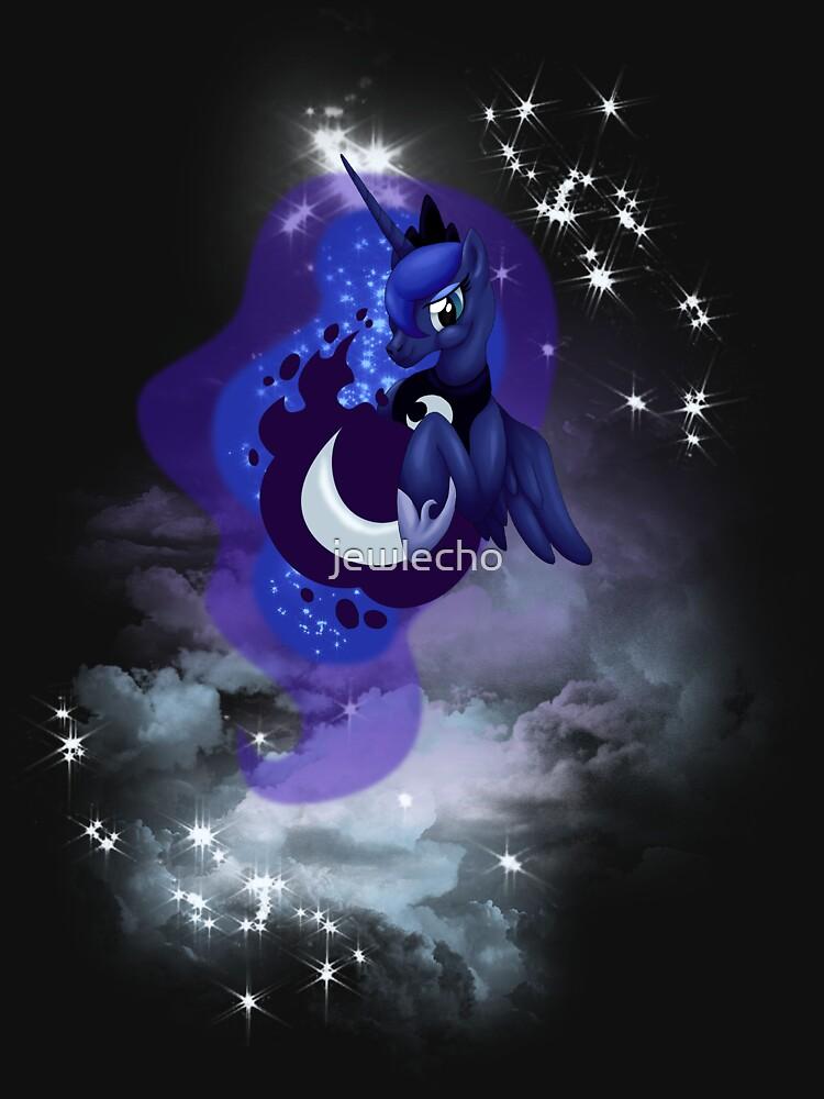 Lunar Goddess of the Night by jewlecho