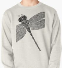 Dragon Fly Doodled Pullover