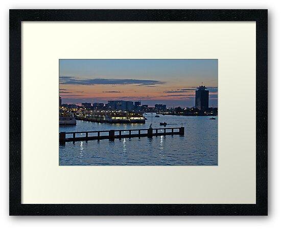 Amsterdam Harbour by GW-FotoWerx