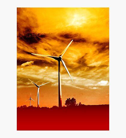 Wind Park Mills VRS2 Photographic Print