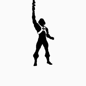 HE-MAN SILOUETTE T-shirt by Southclan