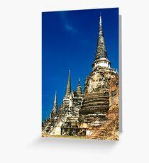 Historic City, Thailand Greeting Card