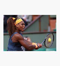 Serena Williams Photographic Print