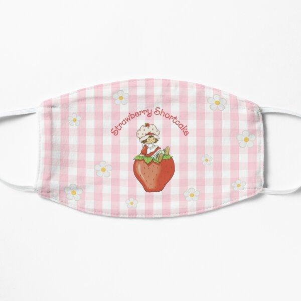 strawberry shortcake plaid Mask