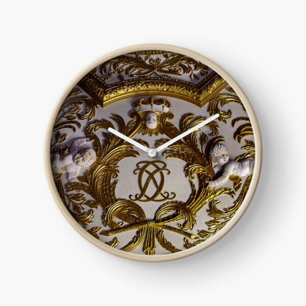 Schloss Charlottenburg - Berlin - Detail der Decke Uhr