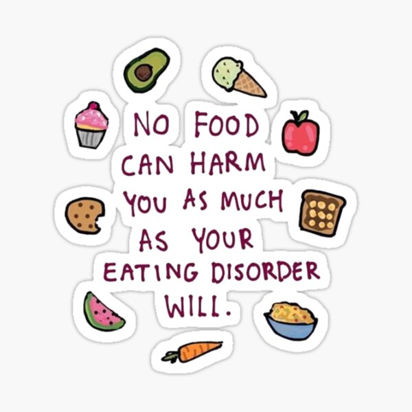 Food is fuel Sticker