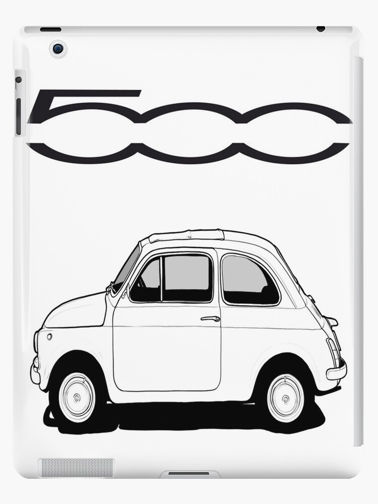Fiat 500 ipad case by worldart