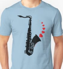 Sax and Love Unisex T-Shirt