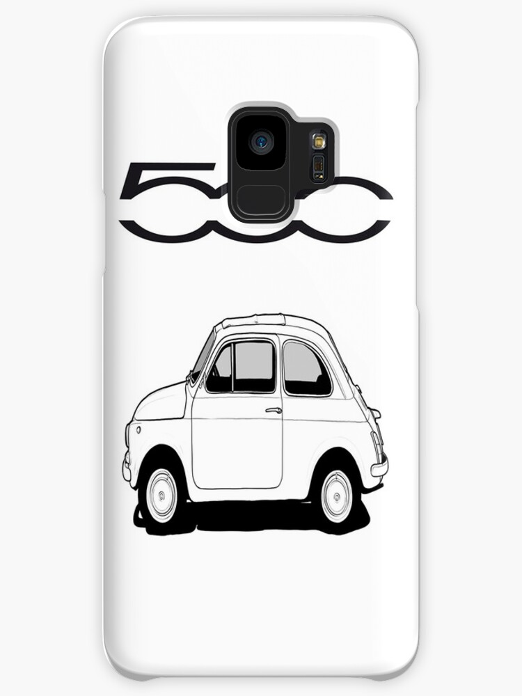 Fiat 500 Iphone Case Cases Skins For Samsung Galaxy By Worldart