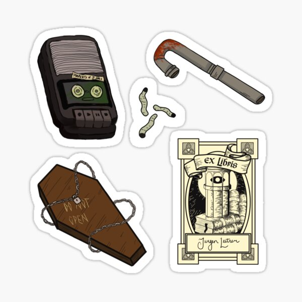 Magnus Archives Icons Sticker