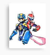 Megaman & Protoman Canvas Print