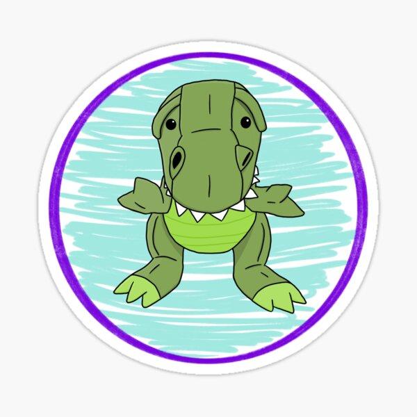 Cute T-Rex (No Text) Sticker