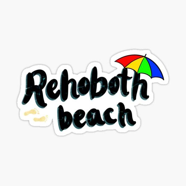 Rehoboth Beach Sticker