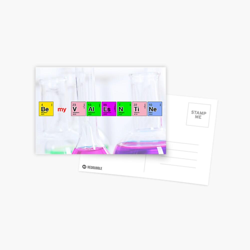 We've got chemistry Postcard
