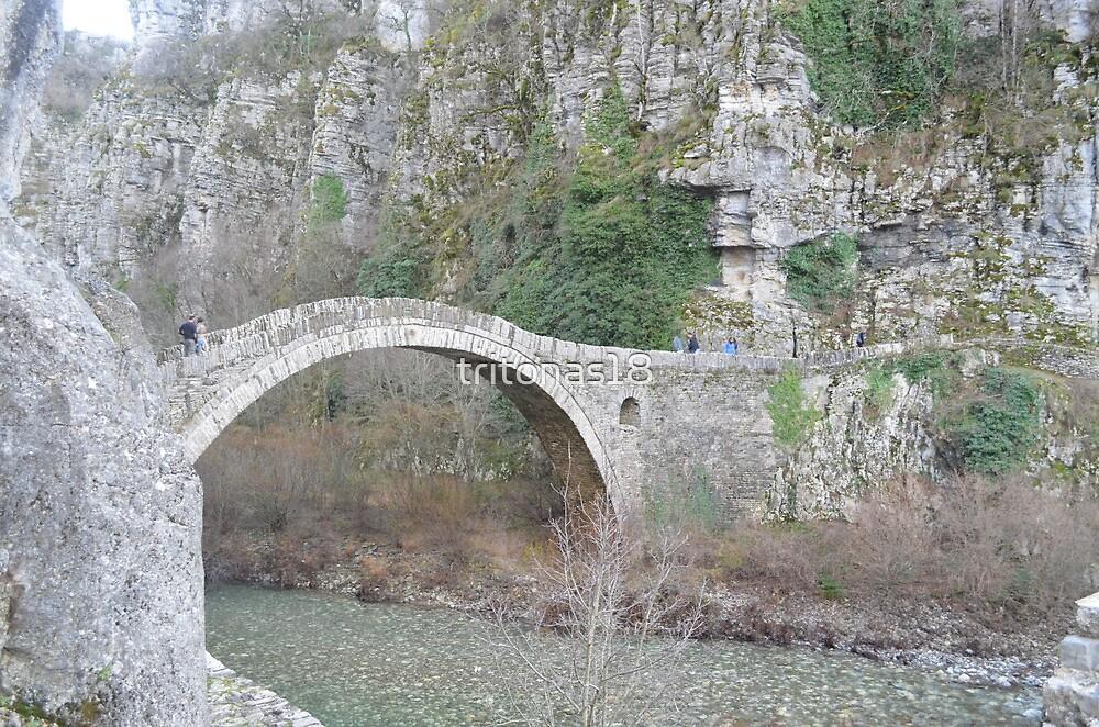 Stone Bridge in GREECE by tritonas18