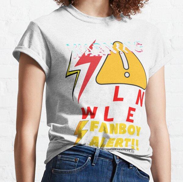 """""""Alan Wilder FanBoy Alert!!"""" Collection  Classic T-Shirt"""