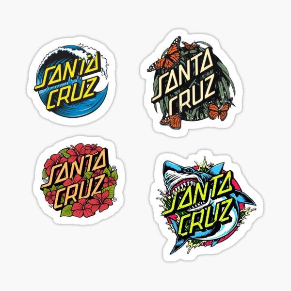 Paquete de pegatinas Santa Cruz Pegatina