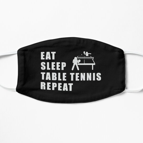 Table tennis ping pong repeat funny cool saying gift Mask