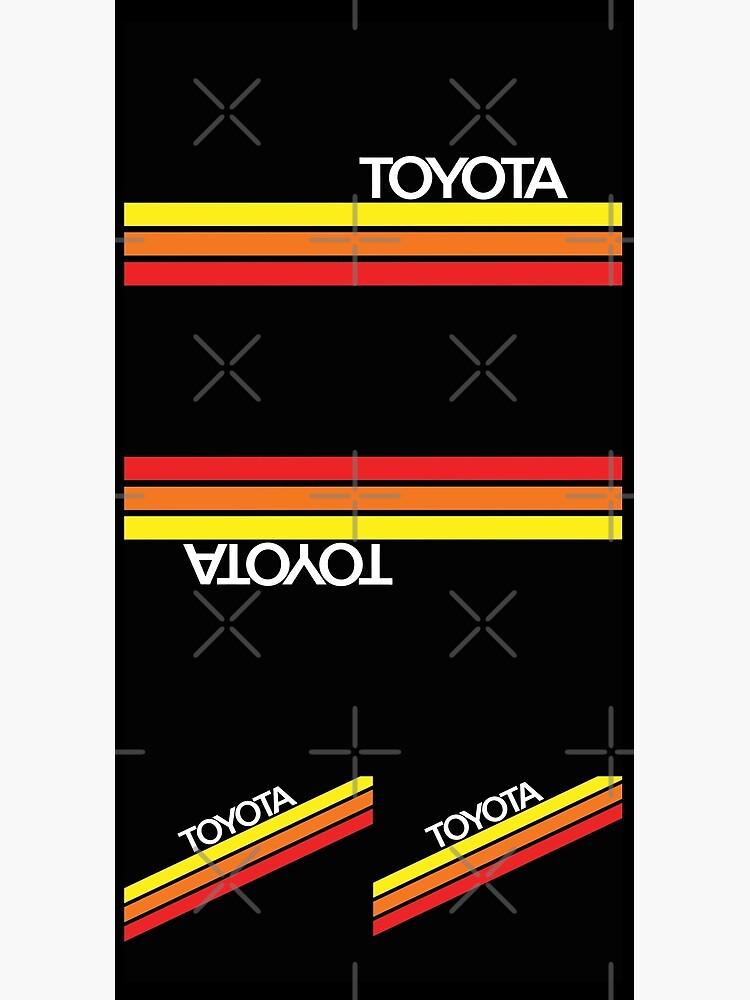 Toyota Racing Colors by tanyarose