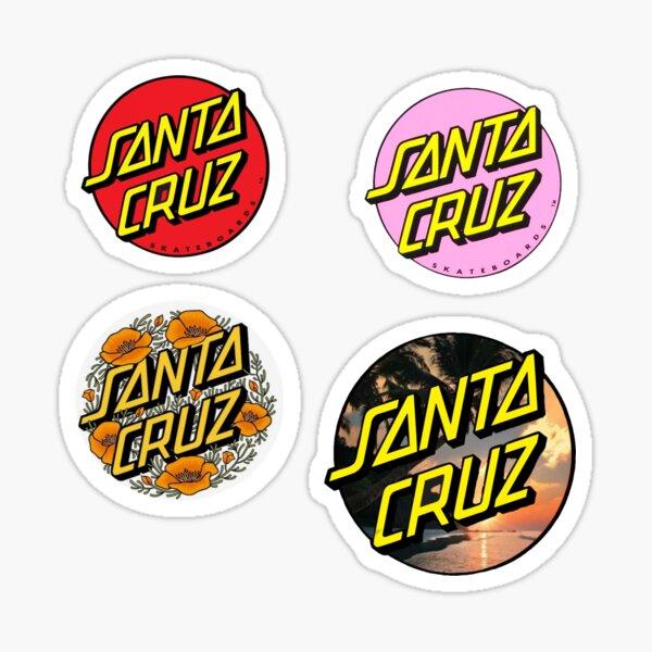 Santa Cruz sticker pack Sticker
